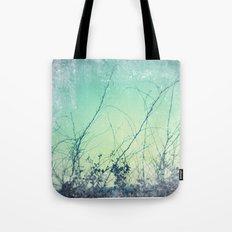 sea plants (teal) Tote Bag