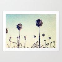 L.A  Dreaming  Art Print