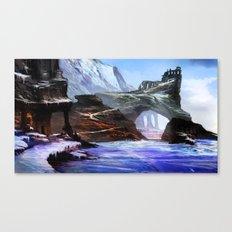 Frozen Temple Canvas Print
