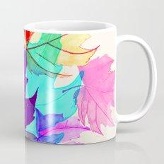 Maple Leaves Falling Mug