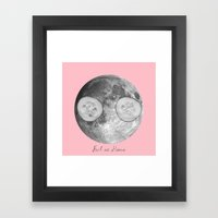 Feel at home Framed Art Print