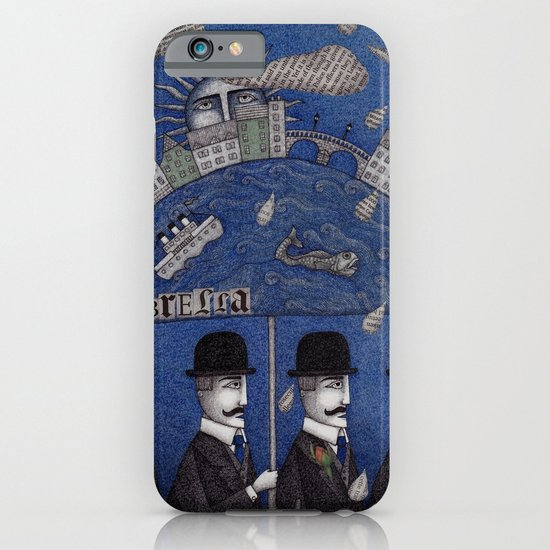 Four Men Waiting iPhone & iPod Case