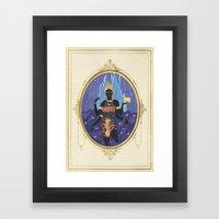 Ratri, the indian goddess  Framed Art Print