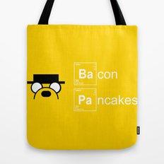Making Bacon Pancakes Tote Bag