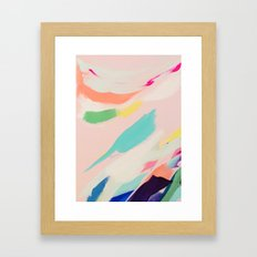 Wild Ones #3 - abstract painting Framed Art Print