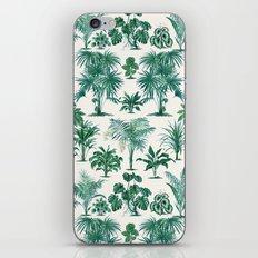 Exotic Tropical Palm Print iPhone & iPod Skin