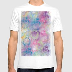 Summer Craziness 2 SMALL White Mens Fitted Tee