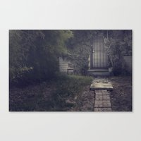 how to disappear completely Canvas Print