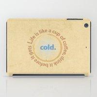 Life And Coffee iPad Case