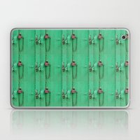 Lock on a Green Door Laptop & iPad Skin