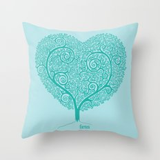 Love Growing Throw Pillow