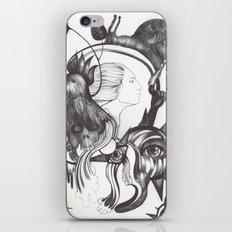 Retrato de Sirena iPhone & iPod Skin