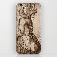My Wooden Heart iPhone & iPod Skin