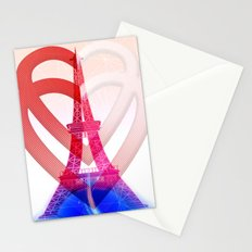 PARIS LOVE Stationery Cards