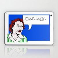 (Converse) Ruth Barcan Marcus Laptop & iPad Skin