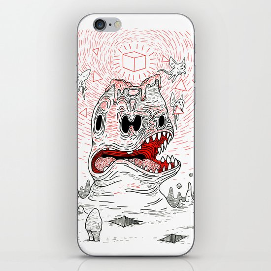 Triangles Are Tasty iPhone & iPod Skin