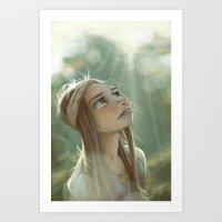 Morning Sunlight Art Print