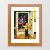 No More Galaxies For Tod… Framed Art Print
