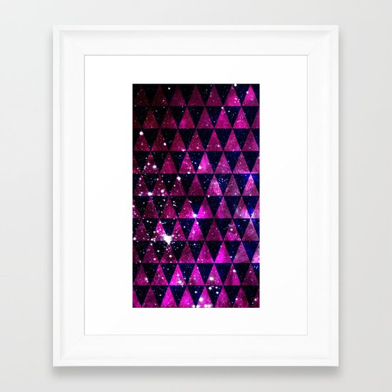 Through Space Framed Art Print