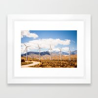 Freeway Framed Art Print