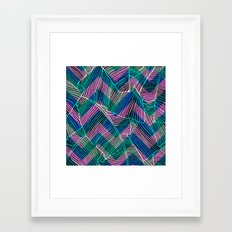Foliage Pattern Framed Art Print