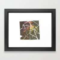 Shatter Framed Art Print