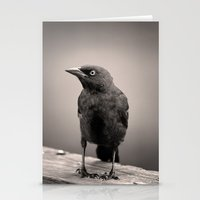 Goth Grackle Stationery Cards