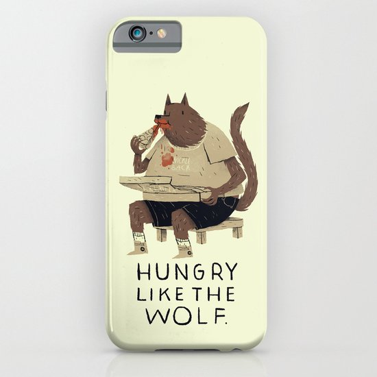 hungry like the wolf iPhone & iPod Case