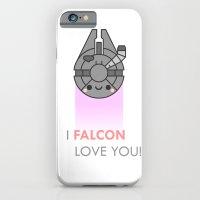 i FALCON love you iPhone 6 Slim Case