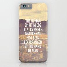 The Human Spirit Slim Case iPhone 6s