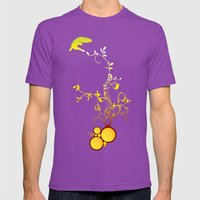 Life Mens Fitted Tee Ultraviolet SMALL