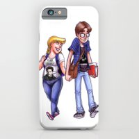 iPhone & iPod Case featuring Geek Love by Brianna