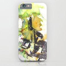 Boba Fett Firing off Green Color Slim Case iPhone 6s