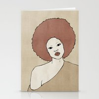 Female Three Stationery Cards