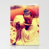 Flute Stationery Cards