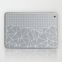 Abstract Outline Grid Gr… Laptop & iPad Skin