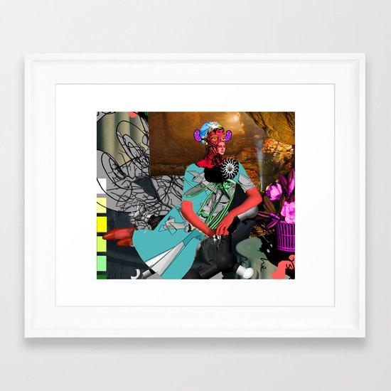 jellybean mistress Framed Art Print
