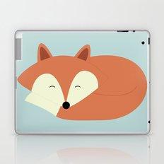 Sleepy Red Fox Laptop & iPad Skin