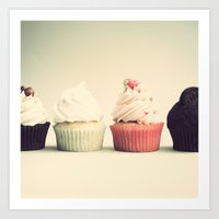 Yummy four Art Print