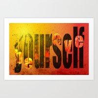 Believe (in) Yourself Art Print