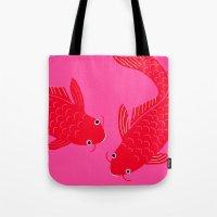 Happy Fish Tote Bag