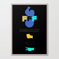 Marcel Desailly - The Rock Canvas Print