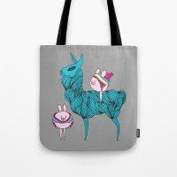 Llama & friends Tote Bag