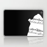 The Wolf Howls Laptop & iPad Skin