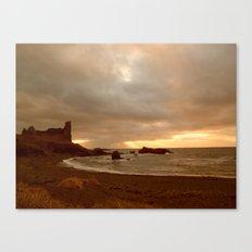 Dunure Castle Canvas Print