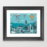 Adventure Days  New York Framed Art Print