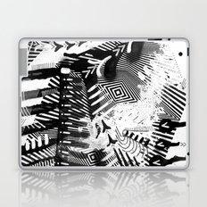 GRAY AND BLACK Laptop & iPad Skin