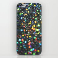 Sparkles: Paint Daubs iPhone & iPod Skin
