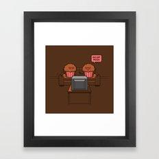 Baked Goods Framed Art Print