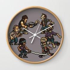 The Slugging Dead Wall Clock